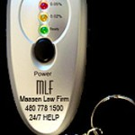 Law Firm Selling Keychain Breathalyzers for the Holidays