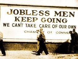 Jobless Men -- Keep Going!
