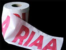 RIAA toilet paper