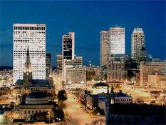 Tulsa skyline.