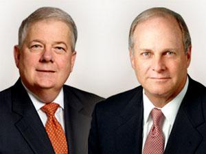 Russell Welsh (left), Jack Kilroy Jr.
