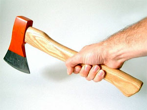 The Axe! It's coming! FOR YOU.