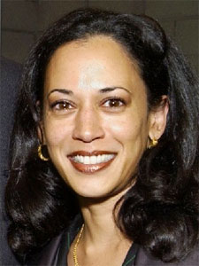 Kamala Harris. Hey, she's actually cute. Someone notify Dick Wolf!