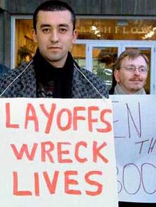 Layoffs wreck lives.