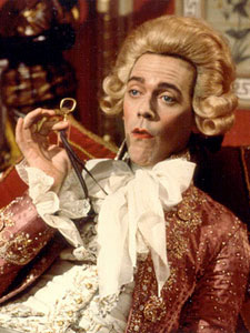 Hugh Laurie as the Prince Regent