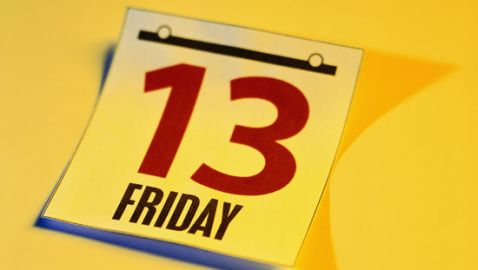 Three Friday the 13ths in 2012