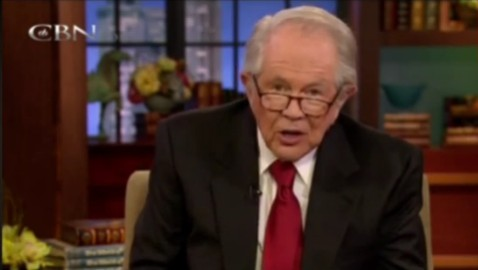 Pat Robertson Blames a Wife for her Cheating Husband, Again