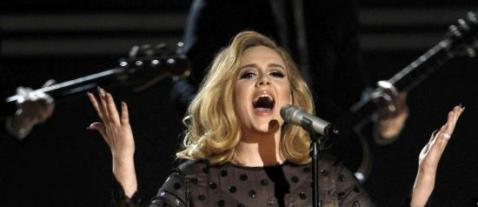Adele Scores Six Sixes At The Grammys