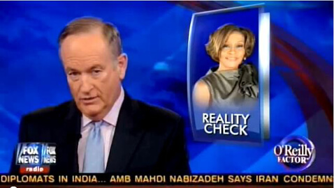 "Bill O'Reilly Criticizes Whitney's Doctor, Says Whitney, ""Wanted to Kill Herself"""