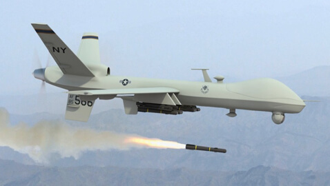 Combat Drones Soon To Fly Over U.S. Airspace