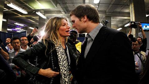 Gisele Bundchen Stands By Husband Tom Brady After Patriots' Defeat