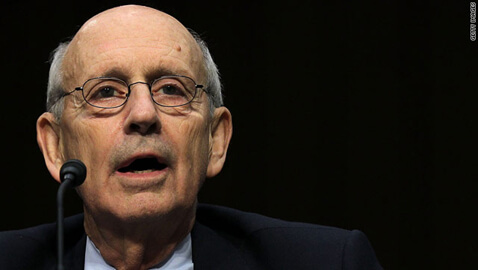 Justice Breyer Robbed By Man Brandishing A Machete