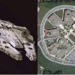 Millennium Falcon Look Alike School Goes Viral