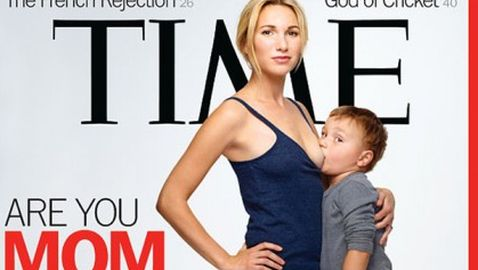 Photo on Cover of 'Time' Causing a Stir
