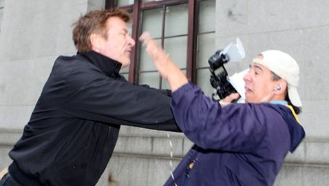 Alec Baldwin Punches Photographer