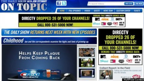 DirecTV-Viacom Battle Reaches the Internet