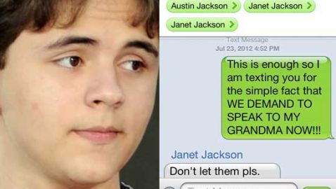 Oldest Son of Michael Jackson, Prince, Posts Text Message Online about Grandmother