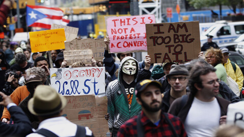 Occupy Wall Street Protester to Plead Guilty