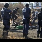South Africa Police Kill 34 Protesting Miners, Claiming Self Defense