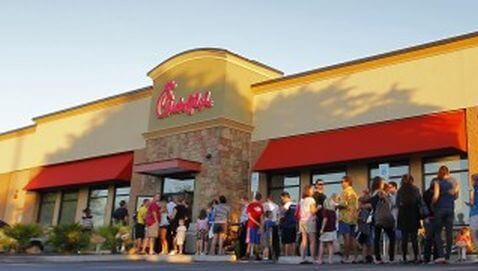 Chick-Fil-A Posts Record Sales on August 1
