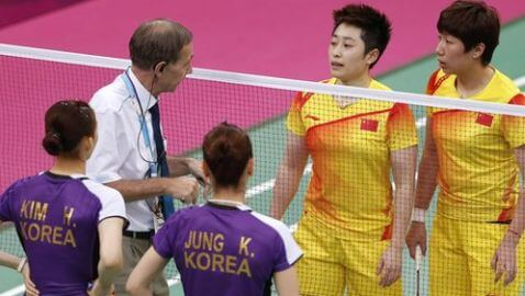 Badminton Players Disqualified from Olympics for Throwing Matches