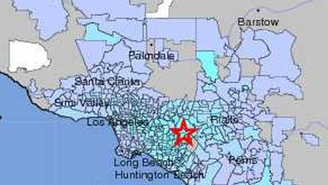 Earthquakes Rattle Yorba Linda, California