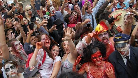 """Government Warns: """"The Zombies are Coming"""""""