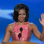 Michelle Obama Interrupted By Gay Rights Protestor