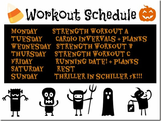 Workouts oct 21