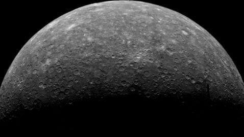 NASA: Water Ice Found on Mercury by Messenger