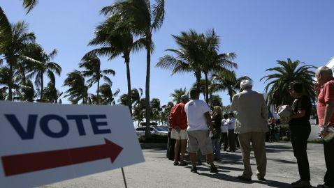 Early Voting Waiting Times in Florida Exceed Four Hours