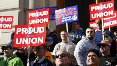 Union Membership in United States Drops in 2012