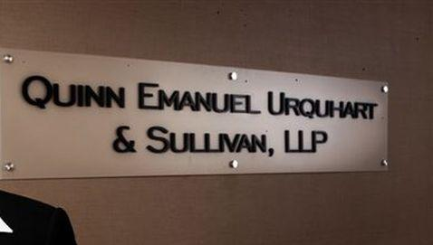 law firm news, quinn emanuel, partnership