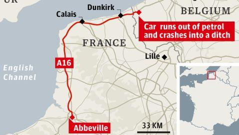 French Man Trapped in Vehicle Traveling 125 MPH