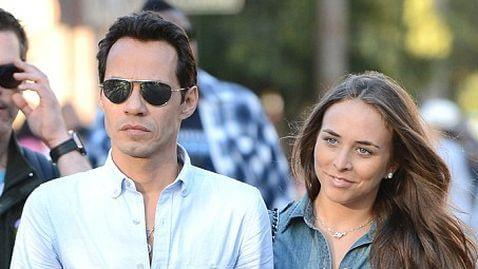 Marc Anthony and Chloe Green Visit Disneyland