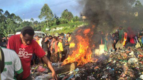 Woman Burned Alive in Papua New Guinea
