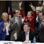 Colorado Signs in Civil Unions