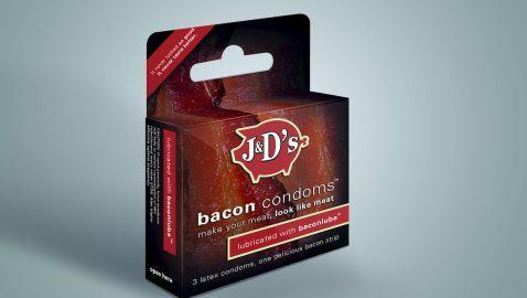 Food Company Offering Bacon Condoms