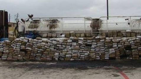 3.9 Tons of Marijuana Found During Traffic Stop