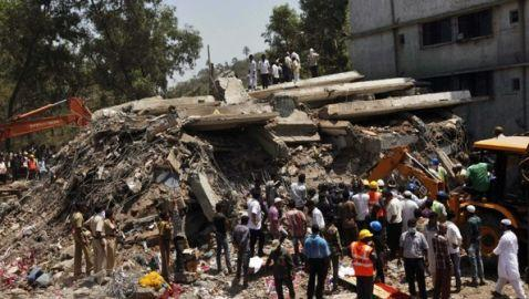 Building Collapse in India Leaves 47 Dead, Scores Injured