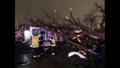 Tornado, Storm Death Toll Rises in Southeastern United States