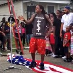 Did Lil Wayne Stomp on the American Flag?