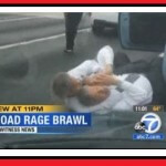 Well-dressed Lawyer Punches Fellow Driver in Road Rage