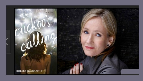 J.K. Rowling's Robert Galbraith Pseudonym Leaked by Law Firm
