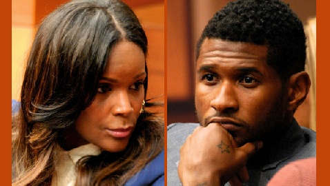 Usher's Ex-Wife Seeks Full Custody After Her Son Almost Drowned