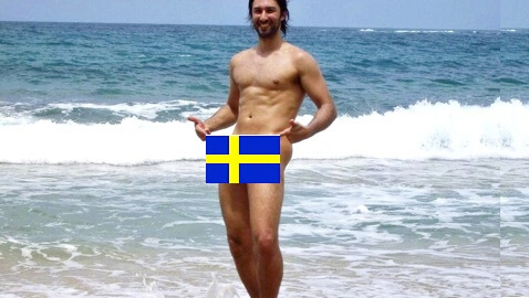 Self-Pleasure Legal on Beaches in Sweden