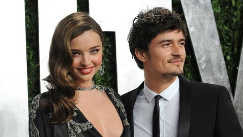 Seemingly Happy Orlando Bloom and Miranda Kerr Split