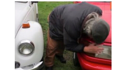 Man Who Has Had Sex with 999 Cars Is Ready to Settle Down with VW Beetle