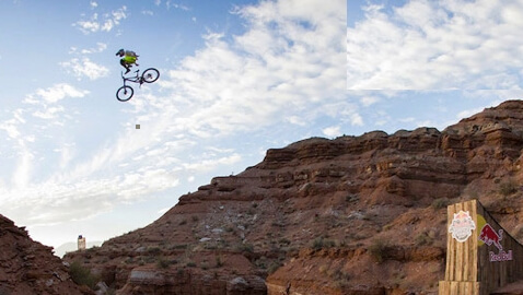 Stunt of Stunts: Craziest Mountain Bike Backflip in Recorded History