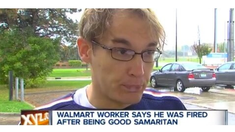 Wal-Mart Employee Fired for Act of Kindness